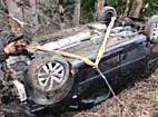Unfall in Raggall: Führerloses Auto stürzt ab