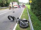 Schwerer Motorradunfall in Oberreitnau