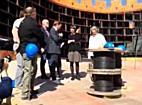 Bregenzer Festspiele: Richtfest der Seebühne zu Turandot