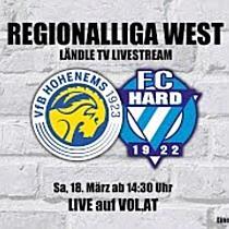 LIVE: VFB Hohenems vs. FC Hard