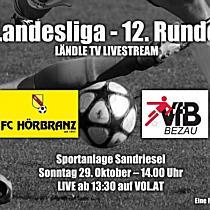 LIVE: FC Hörbranz vs VfB Bezau
