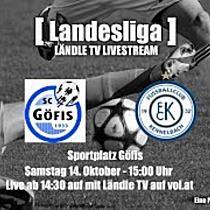 LIVE: SC Göfis vs FC Kennelbach