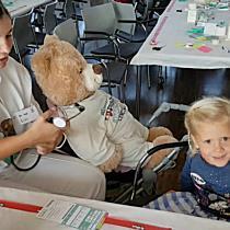 Teddybären-Krankenhaus im LKH Feldkirch