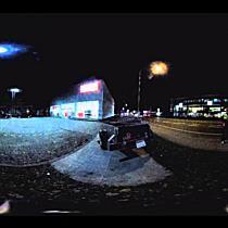 Zwischen ATU-Schild und Eingang - 360-Grad-Video vom Tatort