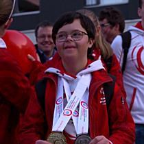 Empfang der Special Olympics Teilnehmer in Götzis