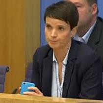 Petry will AfD-Fraktion im Bundestag nicht angehören