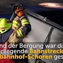Dornbirn: Kleintransporter steckt in Unterführung fest