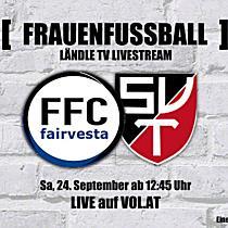 LIVE: FFC Vorderland vs. Taufkirchen