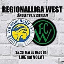LIVE: VfB Hohenems vs. Wacker Innsbruck II