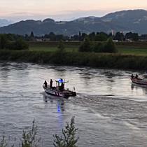 Großeinsatz wegen Suchaktion am Rhein