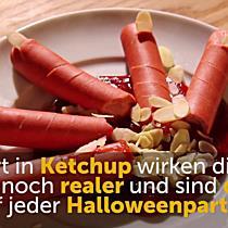Halloweensnacks: Abgehackte Finger zum Selbermachen