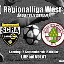 LIVE: SCR Altach Ama vs FC Dornbirn