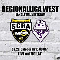 LIVE: Altach Amateure vs. Austria Salzburg