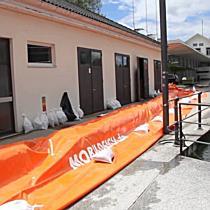 Hochwasser: Der Bodensee hat noch zirca 20 Zentimeter Spielraum