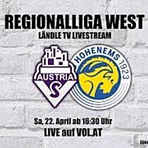 LIVE: Austria Salzburg vs. VFB Hohenems
