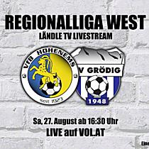 LIVE: VFB Hohenems vs. SV Grödig