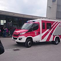 Löschfahrzeug für Feuerwehr Fraxern