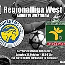 LIVE: VfB Hohenems vs FC Kitzbühel