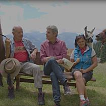 LändleTalk on Tour vom Kristberg - Horst Kuster und Imelda Dönz