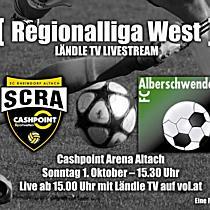 LIVE: SCR Altach Amateure vs FC Alberschwende