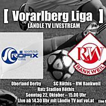 LIVE: SC Röthis vs RW Rankweil