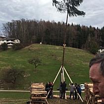 Funkenaufbau in Götzis
