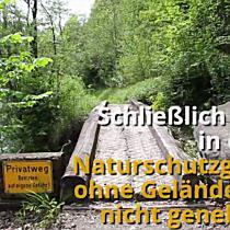 Zukunft der Bahntrasse der Wälderbahn bleibt ungewiss