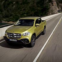 Mercedes Benz X-Klasse I.: Weltpremiere 2017
