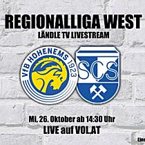 LIVE: VFB Hohenems vs. SC Schwaz