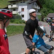 Initiative Sichere Gemeinde: Inline Skates