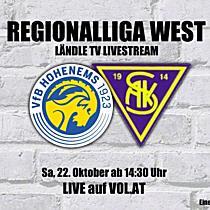 LIVE: VFB Hohenems vs. SAK 1914