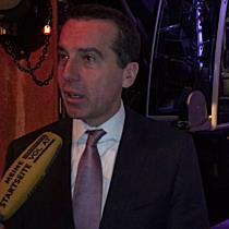 Bundeskanzler Christian Kern: flexible Arbeitszeiten, Infrastruktur und Bodenverbrauch in Vorarlberg