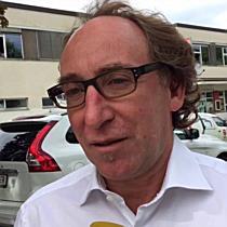 Stichwahl Bundespräsidentenwahl 2016: Grünen-Landesrat Johannes Rauch zur ersten Hochrechnung