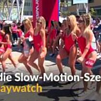 Slow-Motion-Marathon in Los Angeles