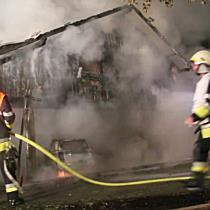 Feuer vernichtet Wohnhaus in Hohenweiler