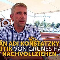 Hohentwiel-Kapitän Adi Konstatzky zum angedachten Umzug in das Binnenbecken