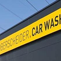 Oberscheider Car Wash kurz vor Fertigstellung