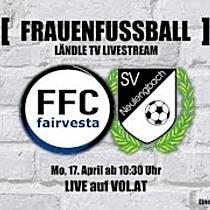 LIVE: FFC Vorderland vs. SV Neulengbach