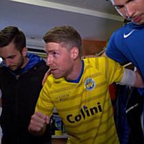VfB Hohenems Backstage beim Cupfinale 2017