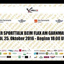 LIVE: Sporttalk beim Flax am Garnmarkt