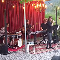 "Band ""La Risa"" in der bugo Göfis"