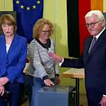 Uneinheitliches Bild bei Wahlbeteiligung - Steinmeier dankt Wahlhelfern