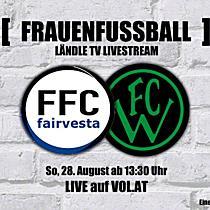 LIVE: FFC Vorderland vs. Wacker Innsbruck