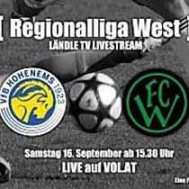 LIVE: VfB Hohenems vs Wacker Ibk. Ama.