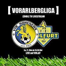 LIVE: VFB Hohenems vs. FC Wolfurt