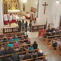 Abschied von Pater Thomas Felder in der Pfarre Gisingen