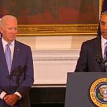 Obama rührt Joe Biden zu Tränen