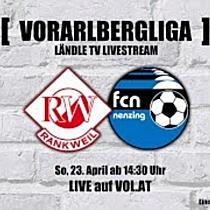 LIVE: RW Rankweil vs. FC Nenzing