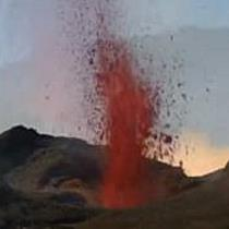 Vulkanausbruch in Frankreich