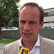 Stichwahl Bundespräsidentenwahl 2016: Dieter Egger (FPÖ) zur ersten Hochrechnung
